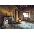 "Komar Stefan Hefele / Lost Places Vlies Fototapete ""Yellow"" 400 x 280 cm"