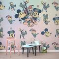 "Komar Vlies Fototapete ""Mickey Fab5"" 400 x 280 cm"
