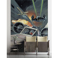 "Komar Vlies Fototapete ""Star Wars Classic Death Star Trench Run"" 250 x 280 cm"