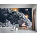 """Komar Vlies Fototapete """"Star Wars Classic RMQ Asteroid"""" 500 x 250 cm"""