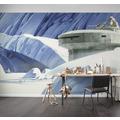 """Komar Vlies Fototapete """"Star Wars Classic RMQ Hoth Echo Base"""" 500 x 250 cm"""