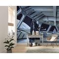 "Komar Vlies Fototapete ""Star Wars Classic RMQ Stardestroyer Deck"" 500 x 250 cm"