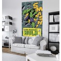 "Komar Vlies Panel ""Marvel Comics The Incredible Hulk Smash"" 120 x 200 cm"