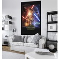 "Komar Vlies Panel ""Star Wars EP7 Official Movie Poster"" 120 x 200 cm"