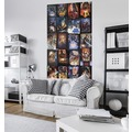 "Komar Vlies Panel ""Star Wars Posters Collage"" 120 x 200 cm"