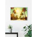 Komar Wandbild Palm Alley 40 x 30 cm