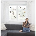 Komar Window-Sticker Birds 31 x 31 cm