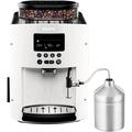 Krups Kaffeevollautomat EA8161 Arabica Display Auto-Cappuccino (weiß)