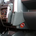 Kuda Lederkonsole für Suzuki Jimny ab 04/05 Mobilia / Kunstleder schwarz