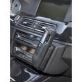 Kuda Lederkonsole für BMW 5er (F10) ab 03/2010 Mobilia / Kunstleder schwarz