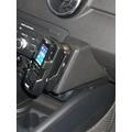 Kuda Lederkonsole für Audi A1 ab 09/2010 Echtleder schwarz