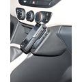 Kuda Lederkonsole für Hyundai i10 ab 11/2013 Kunstleder schwarz