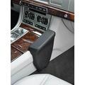 Kuda Lederkonsole für Jaguar XF 03/2009 Echtleder schwarz