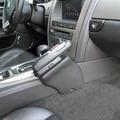 Kuda Lederkonsole für Jaguar XK8 ab 05/06 Kunstleder / Mobilia schwarz