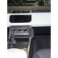 Kuda Lederkonsole für Land Rover Range Rover Sport ab 09/2013 Kunstleder schwarz