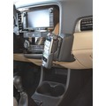 Kuda Lederkonsole für Mitsubishi Outlander ab 10/2012 Echtleder schwarz