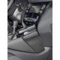 Kuda Lederkonsole für Nissan Qashqai ab 11/2013 (J11) Kunstleder schwarz