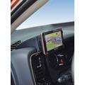 Kuda Navigationskonsole für Navi Mitsubishi Outlander ab 10/2012 Mobilia / Kunstleder schwarz