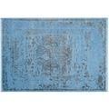 Lalee Teppich Galapagos - Pinta Blau 140 x 190 cm