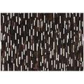 Kayoom Lederteppich Gambia - Banjul Braun 140 x 200 cm