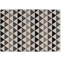 Lalee Teppich Now! 800 Grau 80 x 150 cm