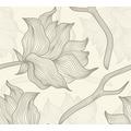 Lars Contzen Vliestapete Artist Edition No. 1 Tapete Dried Flowers creme grau 10,05 m x 0,53 m