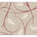Lars Contzen Vliestapete Artist Edition No. 1 Tapete Elegance in Greenhouse beige creme rot 10,05 m x 0,53 m