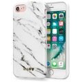 LAUT HUEX ELEMENTS Marble White - TPU Case - für Apple iPhone 7