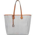L.CREDI Eve Shopper Tasche 31cm weiss
