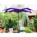 Leco Schirm Blüte violett