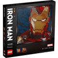LEGO® Art 31199 Marvel Studios Iron Man - Kunstbild