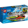 LEGO® City 60254 Rennboot-Transporter