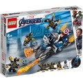 LEGO® Marvel Avengers Movie 4 76123 Captain America: Outrider-Attacke