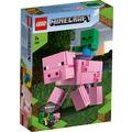 LEGO® Minecraft™ 21157 BigFig Schwein mit Zombiebaby