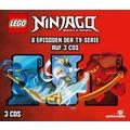 LEGO® Ninjago Hörspielbox 1 Hörspiel