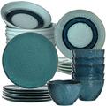 Leonardo Leonardo Tafel-Service 24-teilig Matera blau