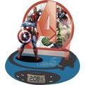 Lexibook RP500AV The Avengers Projektions Radio-Wecker