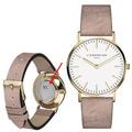 Liebeskind Damenuhr MIT GRAVUR (z.B. Namen) LT-0084-LQ calf mit Lederarmband Damen Uhr Leder Armbanduhr