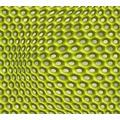 Livingwalls futuristische 3D Tapete Harmony in Motion by Mac Stopa Tapete grau grün metallic 10,05 m x 0,53 m