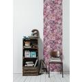 Livingwalls selbstklebendes Panel Pop.up Panel 3D rosa pink grün 2,50 m x 0,52 m