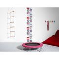 "Livingwalls selbstklebendes Panel ""Pop.up Panel"", blau, rot, weiss 2,50 m x 0,35 m"