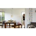 "Livingwalls selbstklebendes Panel ""Pop.up Panel"", bunt, violett, weiss 2,50 m x 0,35 m"