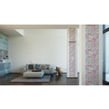 "Livingwalls selbstklebendes Panel ""Pop.up Panel"", grau, rot, weiss 2,50 m x 0,35 m"