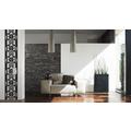 "Livingwalls selbstklebendes Panel ""Pop.up Panel"", schwarz, weiss 2,50 m x 0,35 m"