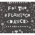 Livingwalls Vliestapete Cozz Ökotapete Flamingo Dance schwarz weiß 362931 10,05 m x 0,53 m