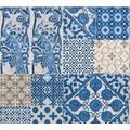 Livingwalls Vliestapete Metropolitan Stories Anke & Daan Amsterdam blau creme lila 369231 10,05 m x 0,53 m