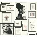 Livingwalls Vliestapete Metropolitan Stories Lola Paris grau schwarz weiß 369181 10,05 m x 0,53 m