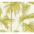 Livingwalls Vliestapete Metropolitan Stories Lola Paris creme grün 369194 10,05 m x 0,53 m