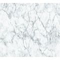 Livingwalls Vliestapete Neue Bude 2.0 Tapete in Marmor Optik weiß grau 361572 10,05 m x 0,53 m