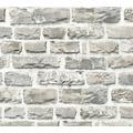 Livingwalls Vliestapete Neue Bude 2.0 Tapete in Naturstein Optik beige bunt grau 361402 10,05 m x 0,53 m